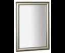 Valeria NL393 zrkadlo v drevenom ráme 58x78 cm, platina