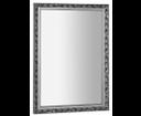 Melissa NL394 zrkadlo v drevenom ráme 57x77 cm, strieborné