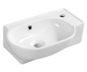 Yumo 3045 keramické umývadlo 45x28 cm