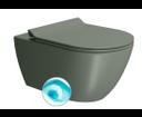Pura 881504 WC závesné 55x36 cm, Swirlflush, agave mat
