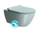 Pura 881515 WC závesné 55x36 cm, Swirlflush, ghiaccio mat