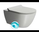 Pura 881517 WC závesné 55x36 cm, Swirlflush, cenere mat