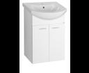 Zoja 51055A umývadlová skrinka 50,5x74x30 cm, biela