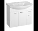 Zoja 51083A umývadlová skrinka 81,2x74x34,2 cm, biela