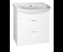 Zoja 51061A umývadlová skrinka zásuvková 61,5x74x32 cm, biela