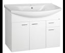 Zoja 51094A umývadlová skrinka 93x74x34 cm, biela