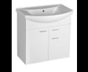 Zoja 51075A umývadlová skrinka 71,5x74x34 cm, biela