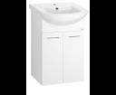 Zoja 51045A umývadlová skrinka 42x74x25 cm, biela