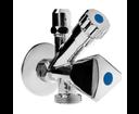 Klum CR39C ventil rohový na práčku a WC  1/2