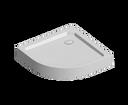 Mereo CV01H štvrťkruhová sprchová vanička SMC 90 x 90 x 14 cm