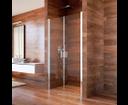Mereo Lima CK80513K sprchové dvere, 80 cm, chróm ALU, sklo Číre