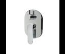 Mereo Mada CBQ60106MB sprchová / vaňová batéria podomietková, oválny kryt