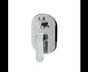 Mereo Mada CBQ60157MB sprchová / vaňová batéria podomietková trojcestná, oválny kryt