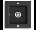 Novaservis DRG50/50B granitový drez grafit