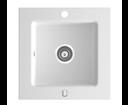 Novaservis DRG50/50W granitový drez biely