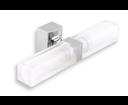 Novaservis Metalia 12 0205,0 dvojité kúpeľňové svetlo hranaté