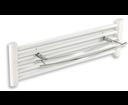 Novaservis Metalia 2 6225/1,0 dvojitý držiak uterákov na rebríkový radiátor 600 mm