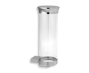 Novaservis Metalia 9 0972,0 zásobník na kozmetické tampóny sklo