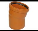 Pipelife KGB kanalizačné koleno DN 150 - 15°
