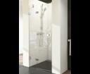 Ravak Brilliant sprchové dvere BSD2-80 L chróm / transparent ľavé
