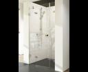 Ravak Brilliant sprchové dvere BSD3-110 L chróm / transparent ľavé