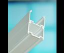 Ravak nadstavovací profil BLNPS lesklý hliník 1900 mm