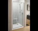 Ravak Pivot sprchové dvere PDOP1-80 satin / transparent