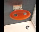 Ravak sedátko do sprchy Ovo-P orange (oranžové)