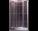 Roltechnik Sanipro sprchovací kút Denver 800 striebro/rauch