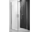 Roltechnik Tower line sprchové dvere TCO1 1000 striebro/transparent
