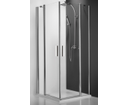 Roltechnik Tower line sprchové dvere TDO1 1000 striebro/transparent