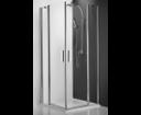 Roltechnik Tower line sprchové dvere TDO1 1200 striebro/transparent