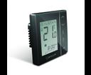 Salus VS30B digitálny podomietkový programovateľný termostat čierny