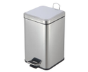 Simple Line GAQ012 odpadkový kôš hranatý 12l, leštená nerez