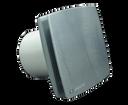 Vents ventilátor 100 LDATL chrómový s časovým spínačom a guličkovým ložiskom