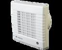 Vents ventilátor 100 MAT biely s časovým spínačom