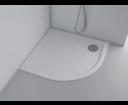 Vima 118 sprchová vanička 900 x 900 štvrťkruhová