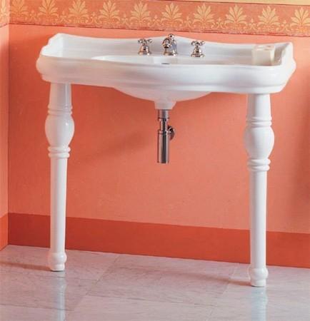 Kerasan Retro 108301 keramická noha k umývadlu 105001