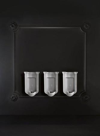 Waldorf 413001 pisoár 44x72x37cm, vrátane sifónu a upevňovacej sady