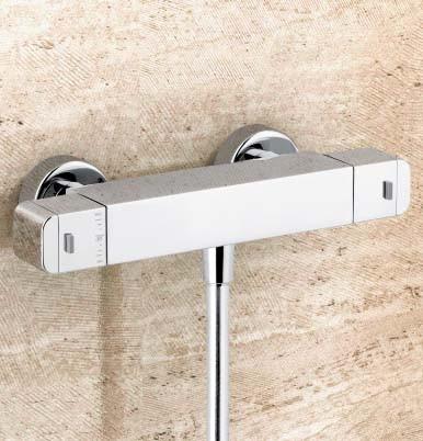 Alpi Aquarama 64155 sprchová nástenná termostatická batéria