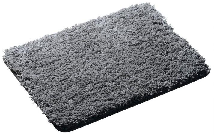 Softy 745307 predložka 60x90cm s protišmykom, polyester mikrovlákno, šedá