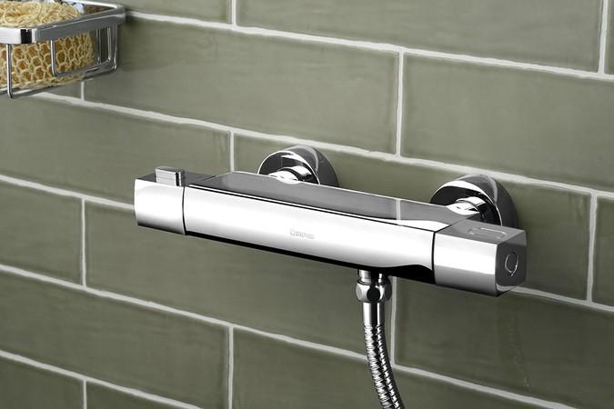 Mixona MG411 nástenná sprchová termostatická batéria, chróm